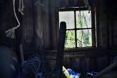 Eine verlassene Scheune Stockfotos