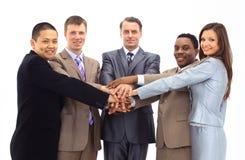 Eine verschiedene Gruppe des Geschäfts Lizenzfreie Stockfotos