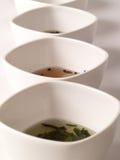 Eine Vielzahl der Tees Stockfotografie