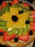 eine Vielzahl des Fruchtkuchens, Torte lizenzfreies stockfoto