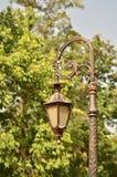 Eine viktorianische Lampe Stockfotos