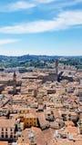 Eine Vogelperspektive von Florenz, Italien stockfoto