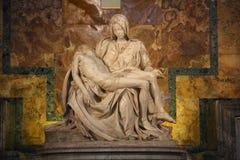 Eine von Michelangelos berühmtesten Arbeiten Stockbild