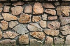 Eine Wand des hellen Steins Lizenzfreies Stockbild