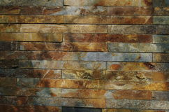 Eine Wand des Steins Stockbild