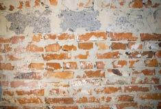 Eine Wand des Ziegelsteines und der Blöcke Stockbilder
