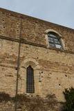 Eine Wand von Florence Charterhouse-Kirche Italien stockbilder