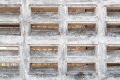 Eine weiße Backsteinmauer Lizenzfreies Stockbild