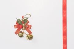 Eine Weihnachtsglocke Lizenzfreie Stockbilder