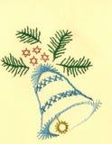 Eine Weihnachtsglocke Stockfotos