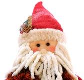 Eine Weihnachtsmann-Marionette lizenzfreie stockfotos