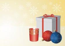 Eine Weihnachtsszene Lizenzfreie Stockfotos