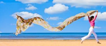 Eine Welle in der Luft Stockfotografie