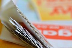 Eine Zeitung Lizenzfreie Stockbilder