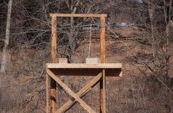 Eine Ziplinie Turm Lizenzfreies Stockfoto