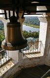 An einem Glockenturm Stockfoto