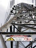Energie-Mast Lizenzfreie Stockbilder