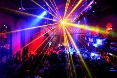 An einem Nachtklub Stockfoto