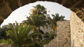In einer alten Festung Lizenzfreies Stockfoto
