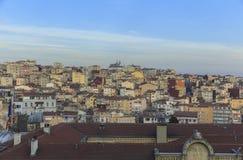 Einer der Bereiche von Istanbul Lizenzfreies Stockfoto