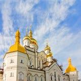 Einer der Tempel von Pochayiv Lavra Stockfotos