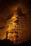 In einer Höhle. Stockfotos