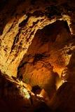 In einer Höhle. Lizenzfreies Stockbild