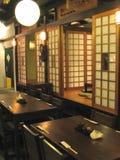 An einer japanischen Gaststätte Lizenzfreies Stockfoto
