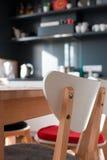 In einer Küche Stockbilder