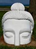 Einer von 10.000 Buddha-Köpfen Stockfoto
