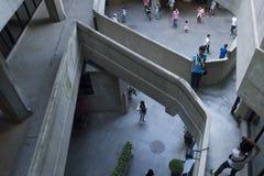 Einer von Shanghais wenig-gewußten Architekturmarksteinen: das Schlachthaus 1933 Lizenzfreies Stockfoto