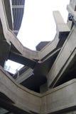 Einer von Shanghais wenig-gewußten Architekturmarksteinen: das Schlachthaus 1933 Stockbild