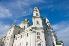 Einer von Tempeln Pochayiv Lavra Lizenzfreie Stockfotos