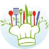 Einereigenes Kochen lizenzfreie abbildung
