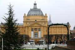 Einführung in Zagreb Lizenzfreies Stockbild