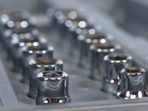 Einfaßungsschlüssel Set Stockfoto