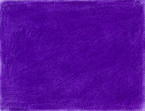 Übergeben Sie gezogenen purpurroten Hintergrund im Kreidepastell Stockbild