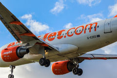 Einfach-Jet Airbus stockbild