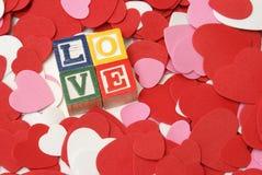 Einfach Liebe Stockfotografie