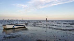 Einfache Ansicht von der Küste Stockbild