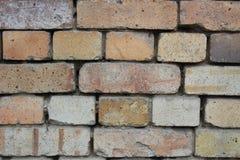 Einfache Backsteinmauer Beschaffenheit Stockbilder