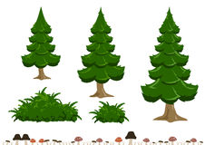 Einfache Baumillustration Lizenzfreie Stockfotografie