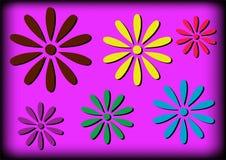 Einfache Blumen Stockfotos