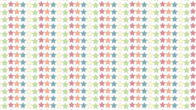 Einfache bunte Sternchen-Vereinbarung Lizenzfreies Stockfoto