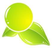 Einfache eco Ikone Lizenzfreies Stockbild
