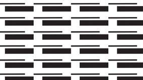 Einfache einfarbige Linie und rechteckiges Muster Lizenzfreie Stockbilder