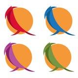 einfache flache Designvektorillustration stock abbildung