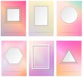 Einfache geometrische Formen Stockfoto