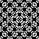 Einfache geometrische Streifendiagonale, nahtloser Vektorschwarzweiss-druck der Punkte lizenzfreie abbildung
