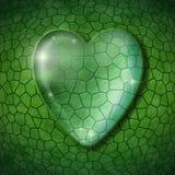 Einfache grüne Illustration Stockbilder